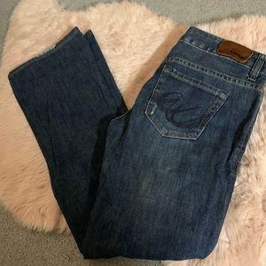 Express Stella bootcut jeans